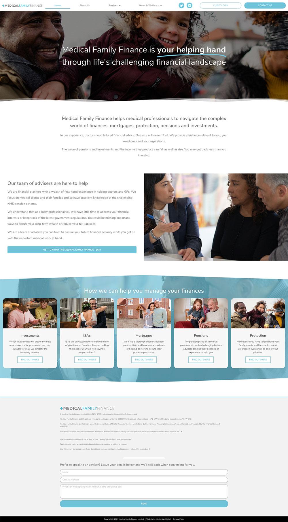 medical family finance website